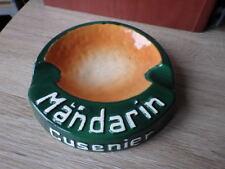 CENDRIER ANCIEN Ceramique / ASHTRAY VINTAGE CUSENIER LE MANDARIN vers 1960