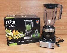 Braun (JB 7130) Black PureMix Work Top Jug Blender With Pulse Feature **READ**