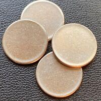 USA Roosevelt Dime Unstruck Planchet Blank ERROR Fehlprägung 10 Cents #24135-40