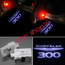 2X LED Laser Door Courtesy Welcome Shadow Courtesy Puddle Light For Chrysler 300