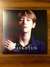 EXO Baekhyun Coming Over Live Venue Japan Limited Edition CD