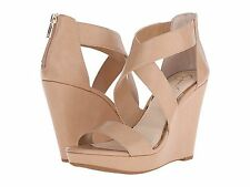 Jessica Simpson Jamilee Platform Wedge Sandals Size 11 Ambra Faux Leather