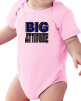 Infant Creeper Bodysuit T-shirt Big Attitude
