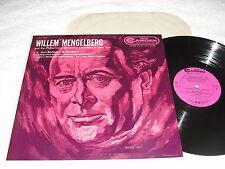 "Willem Mengelberg & New York ""Bach: Sinfonia"" 1954 LP, Nice EX!, Camden, CAL-347"