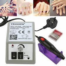 Electric Manicure Nail Art File Drill Machine nail cutters 20000 Rpm UK SHIP