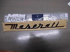 MASERATI  Schriftzug  Emblem  ORIGINAL  Quattroporte GranTurismo