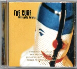 THE CURE - Wild Mood Swings CD - Promo Copy - Factory Sealed New US Issue