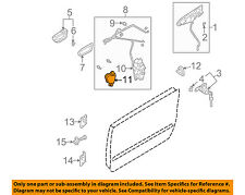 SUBARU OEM 03-08 Forester Front Door-Lock Actuator Motor 61100AE011