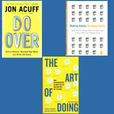 Productivity: Do Over, Making Habits Breaking Habits, Art of Doing, 3 Book Set