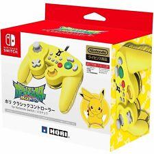 New Hori Nintendo Pikachu Pokemon Switch GameCube Classic Controller USB PC