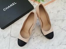 $940 Chanel Ladies 40 Chain Heels Classy Design - Great Condition! PRICE REDUCED
