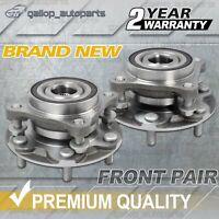 2X Front Wheel Bearing Hub Hubs for Toyota Prado GRJ120 KDJ120 KZJ120 2003-2009