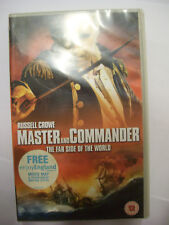 MASTER & COMMANDER: THE FAR SIDE OF THE WORLD [2003] VHS – Russell Crowe