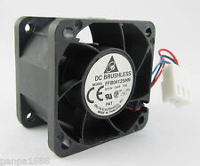 Delta FFB0412SHN Dual Ball Bearing Cooling Fan 12v 0.45a 40*40*28mm 4pin PWM