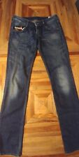 DIESEL INDUSTRIES CLUSH Women's Skinny Stretch Jeans Sz 27 x 32 Med Wash