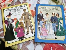 Paper Dolls American Family of the Civil War Era & The 1890s By Tom Tierney