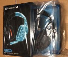 Logitech G930 Wireless Gaming Headset for PC - Black