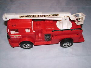 1960S? LOS ANGELES FIRE DEPT TOY PLASTIC FIRE ENGINE