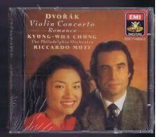 DVORAK CD (NEW)VIOLIN CONCERTO / KYUNG WHA CHUNG/ RICCARDO MUTTI(+CATALOGUE)