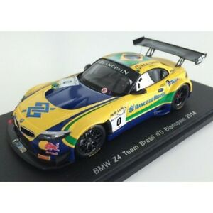 Spark Model : SP051 - 1/43 BMW Z4 GT3 Team Brasil n.0 2014 C. Bueno - S. Jimenez