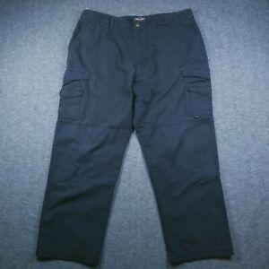 Tru-Spec Tactical Men's Pants 44X32 Black RipStop Police & Fire