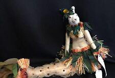 "Katherine's Collection Wayne Kleski Retired 24"" Bunny Rabbit Mermaid Luau Doll C"