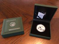 2016 China 30 Gram .999 Fine Silver Panda Coin 10 Yuan Face Value
