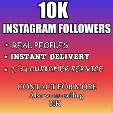 10K Instagram Followers-CHEAPEST-INSTANT-REAL-HQ-
