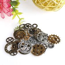 1Bag antique Alloy Parts Steampunk Cyberpunk Cogs Gears DIY Jewelry Craft