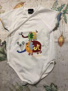 Jim Thompson Designer Infant Baby Elephant Romper Unisex Size 000