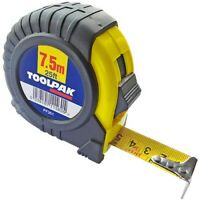 Tape Measure 5.0m / 7.5m Retractable Griplock Imperial & Metric Measuring Metres