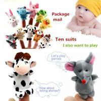 10 Pcs/Set of Finger Puppet Toys Kids Educational Finger Puppets Hand Toy Gift