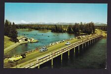 Old Vintage Postcard of FISHING BRIDGE YELLOWSTONE NATIONAL PARK