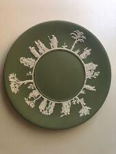 Wedgwood Jasperware Green & White 9 1/2� Plate