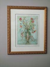 "Edna Hibel ""Sprites of thhe Grecian Urn"" Artist Proof 15/49 & Pastel Paint added"