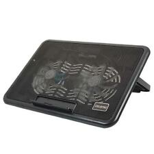 """USB LED 2 Fan Cooling Cooler Pad Adjustable Stand for 12"""" to 15"""" Laptop Notebook"""