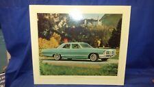 Original Pontiac Dealer Showroom Cardboard Poster 1965 CATALINA 4 Door Sedan