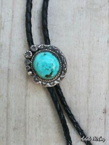 vintage turquoise bolo tie