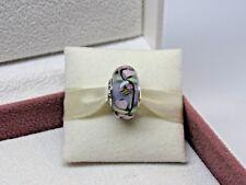 New w/Box Pandora Enchanted Garden Glass  Murano Charm 797014 Spring 2018