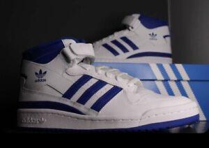 adidas forum mid White Royal Size 9