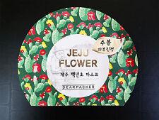 DEARPACKER Jeju Cactus Korean Facial Mask Sheet Soothes Moisturizing Skincare
