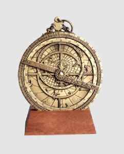Astrolabio Planisferico mm 100 ∅  Astrolabe Collezione H32