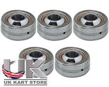 Steering Column Shaft Uniball Bearing M8 x 22mm x 9mm Pack of 5 Go Kart