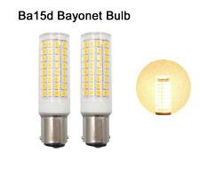 2pcs Ba15d Bayonet Base Led Bulb 102-2835 9W 110V Ceramics Light Warm White H