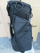 NEW Titleist BLACK TB5SS1AC - 0 Bag 3 Way Ultra Lightweight Stand Carry - SINGLE