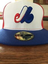 Montreal Expos Fitted Baseball Cap Size 71/2
