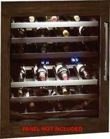 "Thermador 24"" Dual Temperature Undercounter Wine Reserve T24UW800LP EXCLNT"