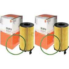 2x MAHLE / KNECHT Ölfilter OX 420D Oil Filter