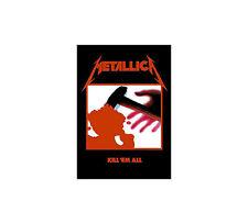 Metallica  Posterflagge  (HFL0190) Kill Em All Flagge  !!! Metallica Flagge