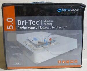 Bedgear 5.0 Dri-Tec performance mattress protector  Twin Size